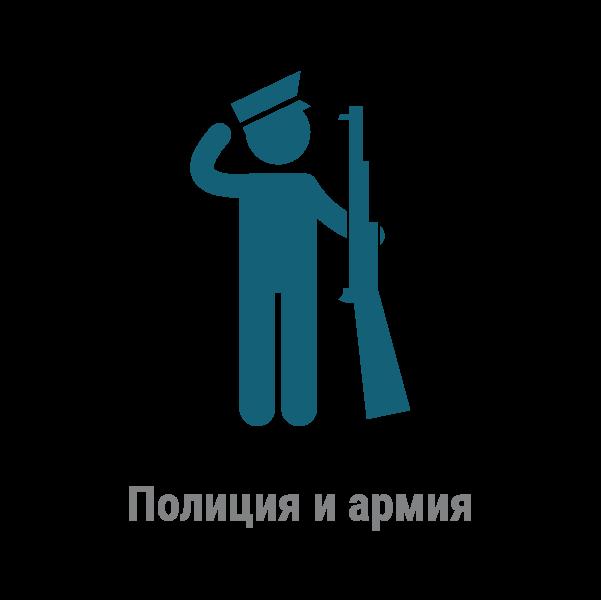 Полиция и армия
